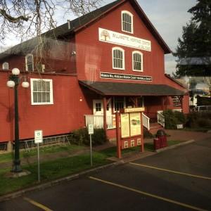 mill front facade